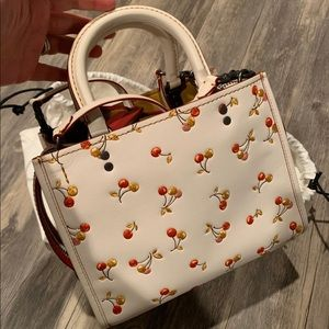 Coach 1941 rogue 25 cherry tote